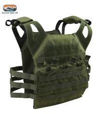 Green Special Ops sauter PLAQUE TRANSPORTEUR TACTIQUE MOLLE Veste militaire airsoft