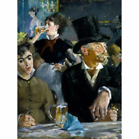 Edouard Manet At The Cafe Extra Large Art Poster