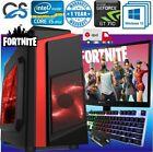 "Fast Gaming Pc Computer Bundle Intel Quad Core I5 16gb Ram 1tb Hdd 2gb Gt710 19"""