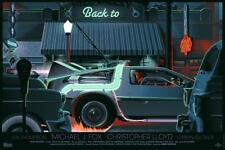 Back to the Future Variant Print Laurent Durieux BTTF Mondo Michael J Fox