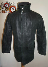 HUGO BOSS Zip Hip Length Leather Coats & Jackets for Men