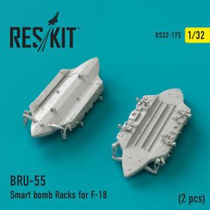 1/32 F-18 BRU-55 Smart Bomb Racks (2pcs) for Academy/Revell/Trumpeter/Kinetic