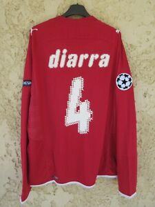 Maillot GIRONDINS DE BORDEAUX 2010 CHAMPIONS LEAGUE PUMA L/S DIARRA shirt trikot