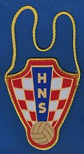CROATIAN FOOTBALL FEDERATION, official flag, Hrvatski nogometni savez - HNS !