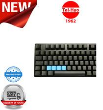 Tai-Hao TPR Rubber Blank 4 Keys Neon Blue KEY0090