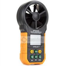Wind Speed Meter Digital Anemometer Air Volume Thermometer Humidity Test MS6252B