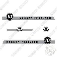 Massey Ferguson 10 Decal Kit Tractor Lawn Mower Equipment Decals
