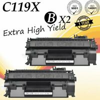 2PK CRG119 High Yield Toner Cartridge for Canon 119II LBP6300dn MF5850DN MF414dw