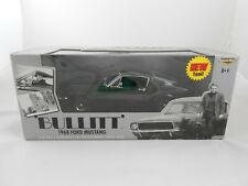 1968 Ford Mustang 1:18 Die Cast Steve McQueen Model Car RC ERTL Modellauto Boxed
