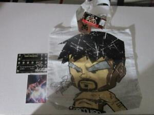 MANNY PACQUIAO & MICKEY MOUSE TOTE BAG AUTHENTIC AUTOGRAPH SIGNED MINDSTYLE