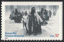 Scott 3803- Korean War Veterans Memorial- MNH (S/A) 37c 2003- unused mint stamp