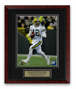 Aaron Rodgers Photo Custom Framed to 11x14 Green Bay Packers