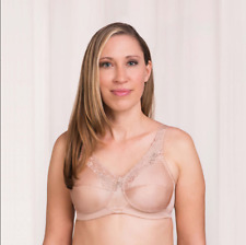 318c9b0ea5 Trulife Mastectomy Bra Style  210 Barbara Lace Accent Softcup Size 36A NEW