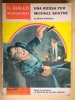 Una rossa per Michael ShayneHalliday BrettMondadoriLibrogiallo841Hardin 40