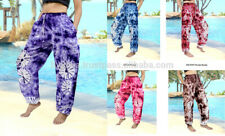 Yoga Pants Festival Baggy Hippie Bohemian  pants with drawstring