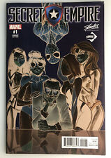 SECRET EMPIRE #1 STAN LEE COLLECTABLES CONQUE VARIANT BY CAMPBELL & RAMOS