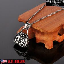 VALYRIA Retro Handbag Wish Box Prayer Box Necklace Secret stash Locket Jewelry