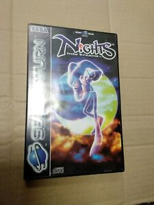 Nights into Dreams game Sega Saturn PAL D99