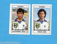 PANINI CALCIATORI 1989/90 -Figurina n.453- MELLI+OSIO -PARMA-Recuperata