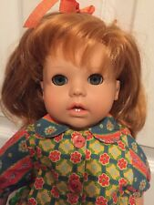 "Gotz Pampolina Abigail Doll Red Hair Green Eyes 18"" Germany"