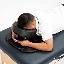 Massage Table Headrest Pillow Face Down Cradle Cushion Sleep Rest Kit Black