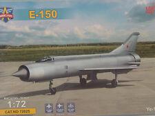E-150 Russicher Kampfjet-  Modelsvit  Flugzeug  Bausatz 1:72 - 72025   #E
