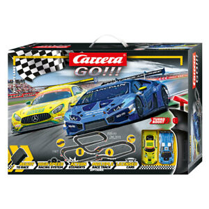 Carrera Go! Victory Lane 1:43 Scale Slot Car Racing System w/2 Vehicles Kids 5y+