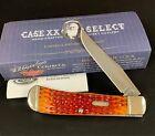 2015 CASE XX SELECT Nectarine Bone Fluted Pocket Knife Backpocket TB61546 Item 1
