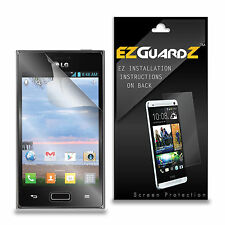 5X EZguardz Screen Protector Shield 5X For LG Optimus Extreme L40G (Ultra Clear)