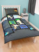 Disney Phineas & Ferb ropa de cama infantil 135x200 Decoración NUEVO AGENTE