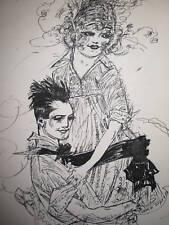 ANTIQUE VINTAGE BOAT JOY RIDE AMERICAN COUPLE LOVE WINE BOTTLES FINE ART ROMANCE