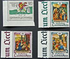 LIECHTENSTEIN - timbre/stamp Yvert et Tellier n°945 à 948 n** (cyn5)