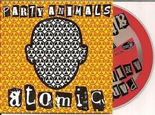 PARTY ANIMALS - atomic CD SINGLE 2TR Happy Hardcore 1997 (BLONDIE)