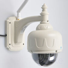 Outdoor WiFi IP Camera HD 960P 4X Optical Zoom Pan Tilt PTZ Dome IP66 Wall Mount