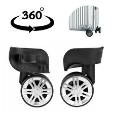 2x Replacement Luggage Suitcase 360° Wheels Swivel Universal Wheel For Any Bags