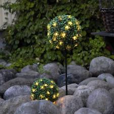 LED Buchsbaum Kugel mit LEDs Buchskugel Kunstbaum Buxbaum Kugel Kunstpflanze