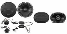 "Hifonics ZS65C 6.5"" 800w Component Car Speakers+(2) 6x9"" 800w Coaxial Speakers"