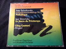 Tschaikowski Pathétique/Stravinsky Le Sacre Oleg Caetani Docd NM (284)
