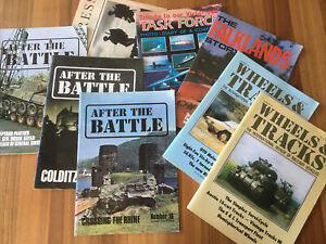 After the Battle and Falklands Magazines.