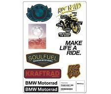 GENUINE BMW Motorrad Decal Sticker Set MOTO MOTO 76868561183