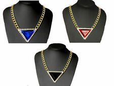 Mixed Metals Crystal Beauty Costume Necklaces & Pendants