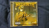 MEGADETH  - SO FAR,  SO GOOD... SO WHAT! CD