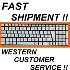 NEW ASUS UK English backlit Keyboard for N551 N551JK N551JM N551JQ silver