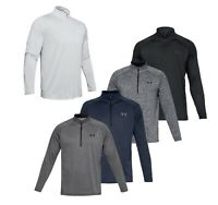 2019 Under Armour UA Tech 2.0 1/2 Zip Pullover Golf Top - Choose Size and Color