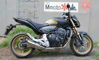 HONDA CB600F HORNET 2007-2013 ENGINE RADIATOR GUARD BLACK BIKE MOTORCYCLE