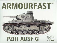 Armourfast 1/72 Pz Kpfw III Ausf G (2 Kits in Box)