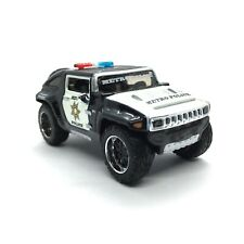 Maisto All Stars Rescue Force Hummer HX Concept Metro Police SUV Die Cast 1/64