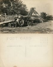 Elizabethtown Pa Masonic Homes Road Making Equipment Vintage Photo Postcard Rppc