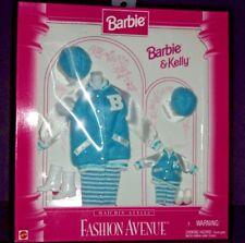 Mattel Barbie & Kelly Fashion Avenue Matchin Styles Outfit Blue Baseball