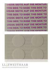 100 x Arcos Klebepunkte Perücken Toupetkleber Super Grip Spot Plus für PU Fläche